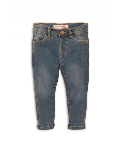 Spodnie jeansowe dziewczęce-niebieskie