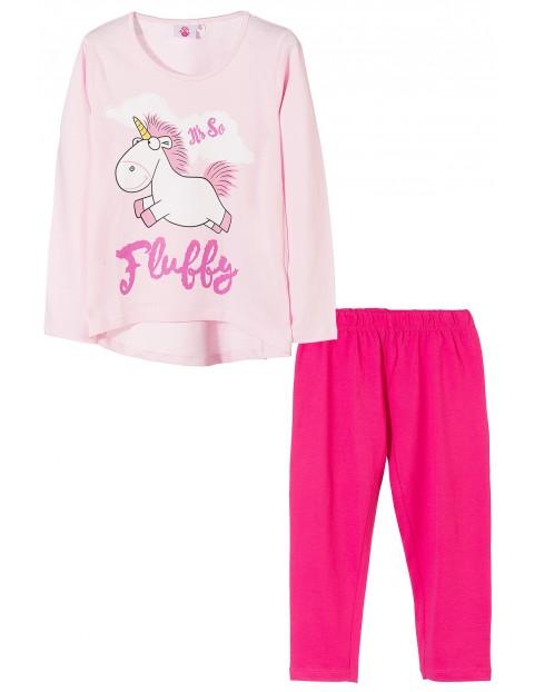 Pidżama dziewczęca Minionki 4W35A4