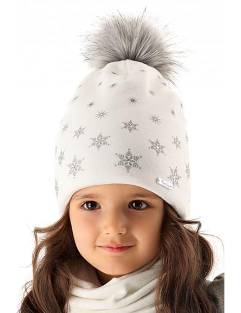 Czapka zimowa dla dziewczynki 3X35AU
