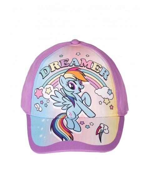 Czapka dziewczęca z daszkiem Pony Rainbow Dash- fioletowa