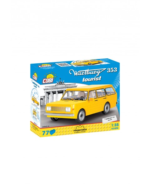 Klocki Cobi Cars Wartburg 353 Tourist 77el