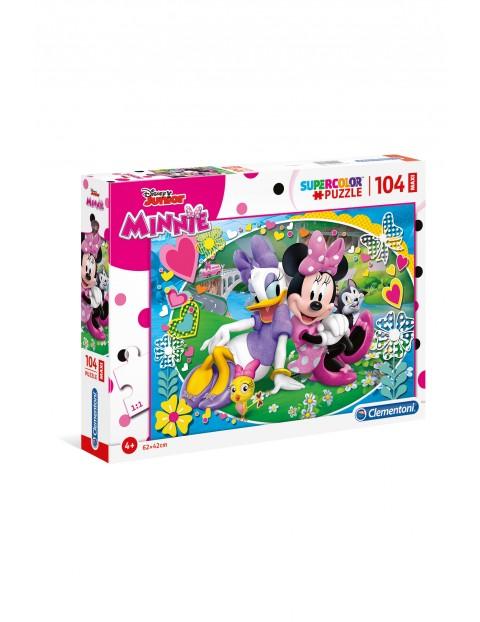 Puzzle  Maxi Super Kolor Minnie - 104 elementy wiek 4+