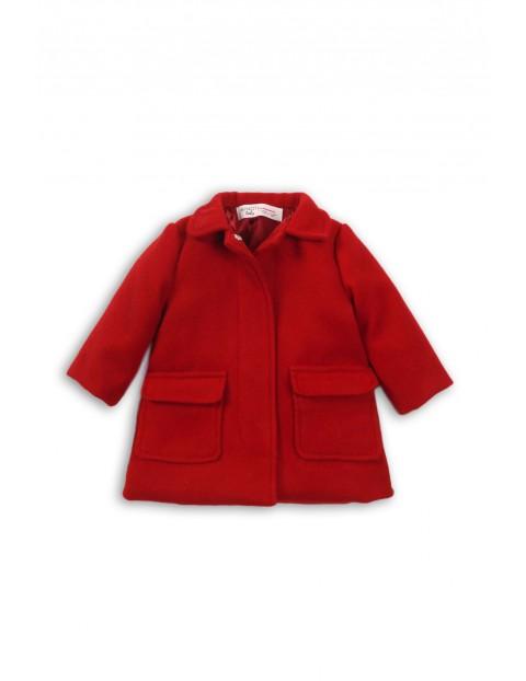 Płaszczyk dla dziewczynki- czerwony