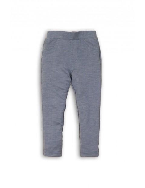 Spodnie jegginsy niemowlęce 5L35B0