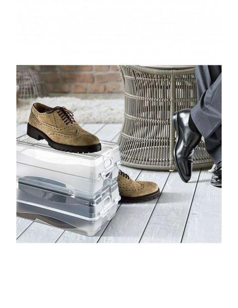 Pojemnik ORGANIZER pudełko zamykane na buty - 36 x 21,5 x 13,5 cm