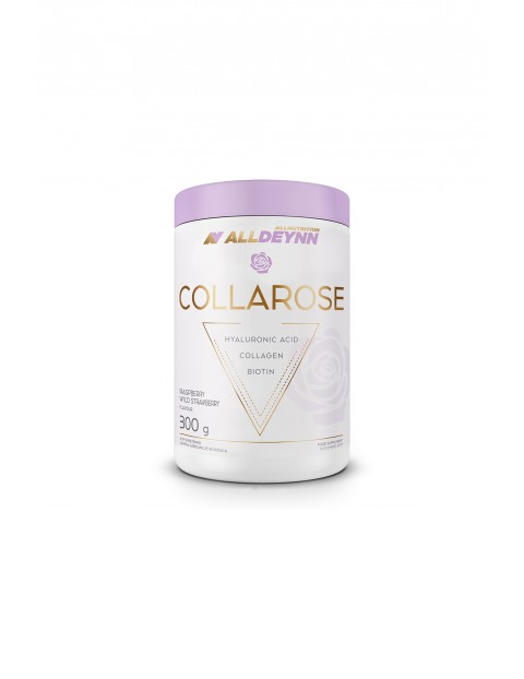 Suplementy diety - Allnutrition  ALLDEYNN Collarose 300 g Raspberry Wild Strawberry