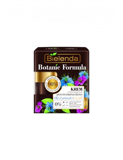 BOTANIC FORMULA Olej z Czarnuszki + Czystek Krem przeciwzmarszczkowy dzień/ noc - 50 ml