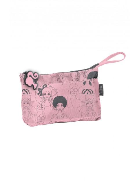 Kosmetyczka dla dziewczynki- Barbie różowa