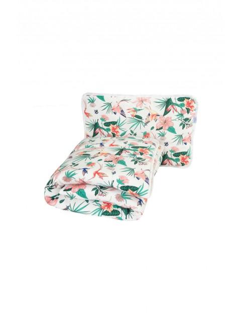 Komplet kołderka i poduszka - 135x100+40x60cm