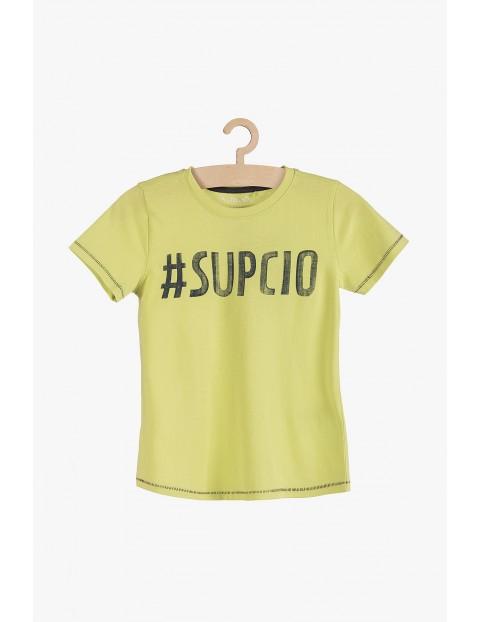 T-shirt chłopięcy #Supcio