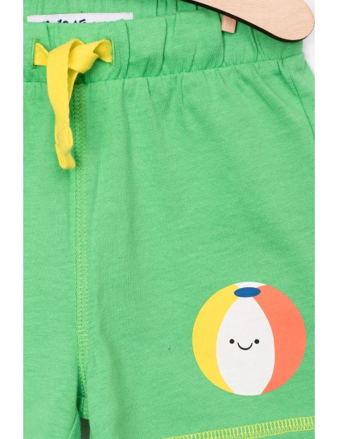 Krótkie spodenki dla niemowlaka- 100% bawełna