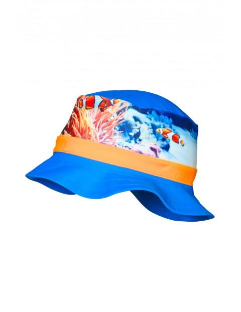 Kapelusz chłopięcy z filtrem UV