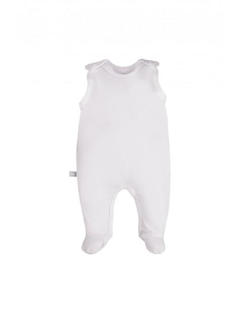 Śpioch niemowlęcy w kolorze białym