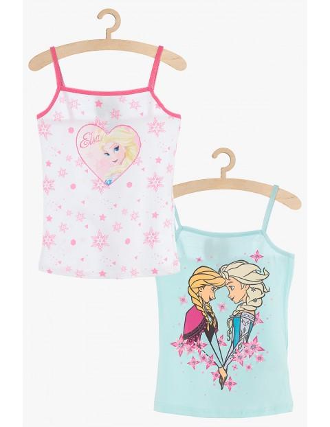 Koszulki na ramiączka dla dziewczynki Kraina Lodu