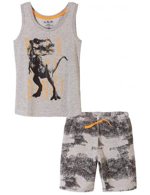 Piżama z dinozaurami dla chłopca