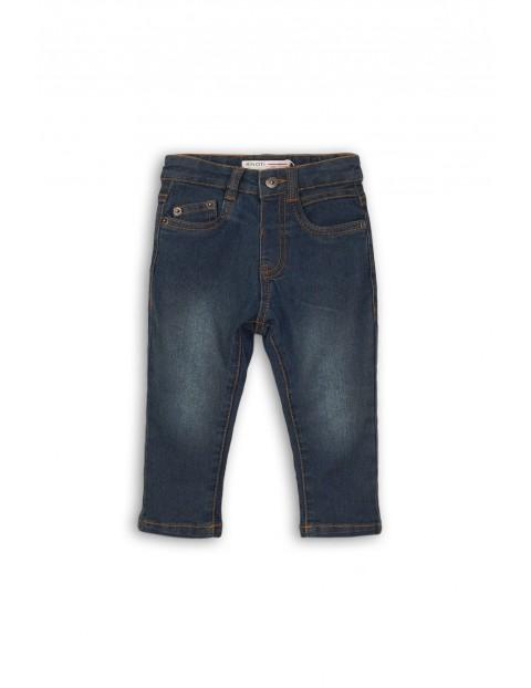 Spodnie jeansowe niemowlęce 5L35AV