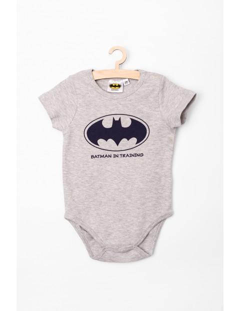Body niemowlęce z krotkim rękawem Batman