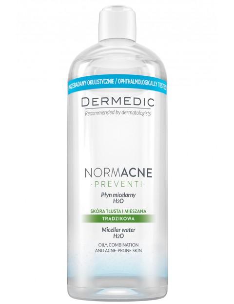 Płyn micelarny H2O NORMACNE 500ml