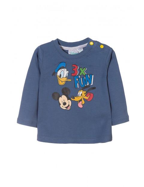 Bluzka długim rękawem Mickey