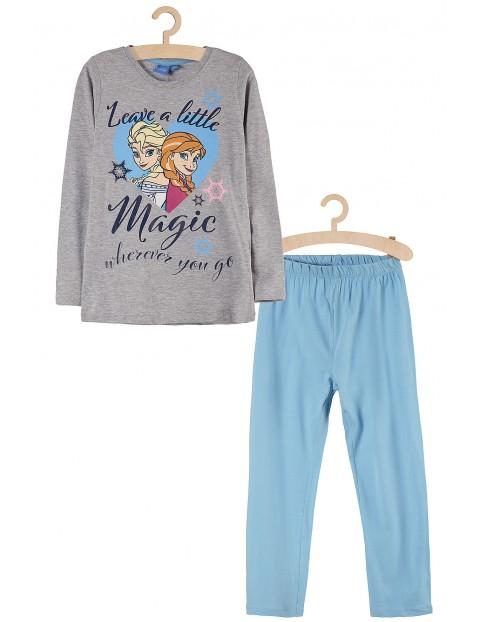 Piżama dziewczęca Kraina Lodu Anna i Elsa