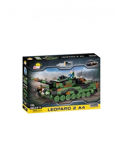 Klocki COBI Leopard 2A4 - niemiecki czołg podstawowy 864el 8+
