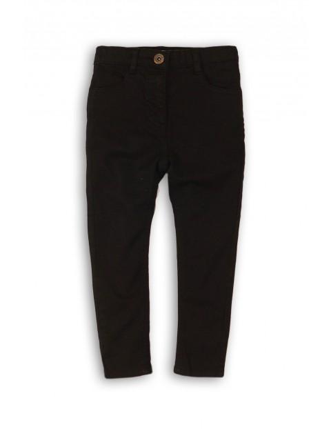 Spodnie dla dziewczynki- czarne