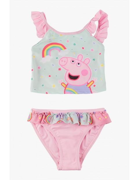 Strój kąpielowy dwuczęściowy dla dziewczynki- Świnka Peppa