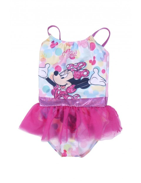 Kostium kąpielowy dziewczęcy jednoczęściowy Myszka Minnie