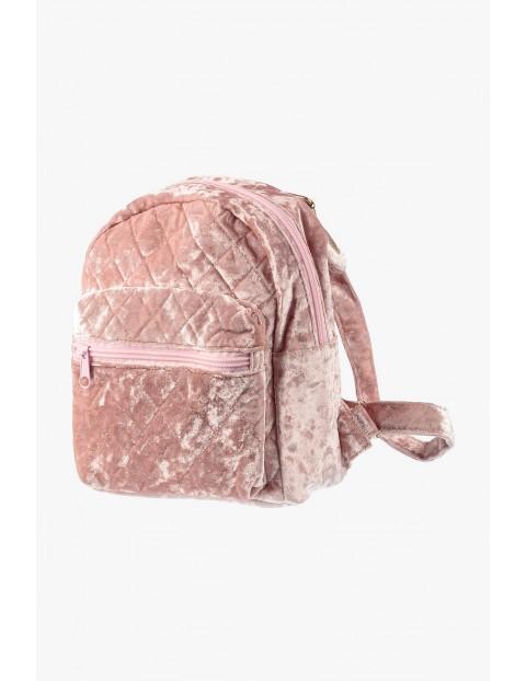 Plecak dziewczęcy różowy