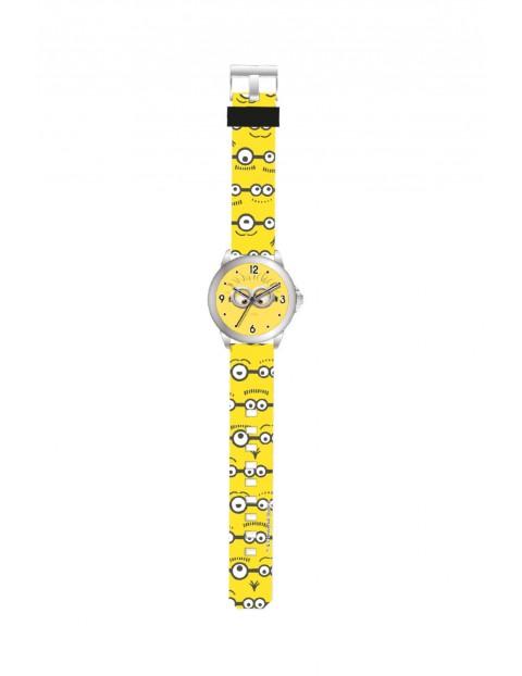Zegarek analogowy Minionki