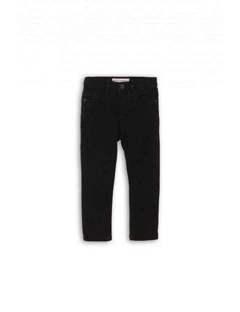 Spodnie chłopięce czarne- klasyczny fason