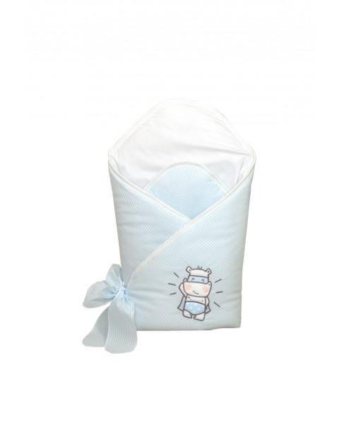 Becik usztywniany dla dziecka Amy Hero- niebieski