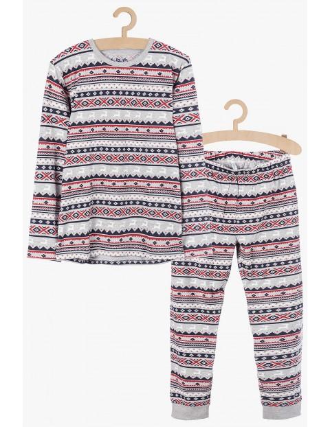 Piżama dla dziewczynki - świąteczny wzór
