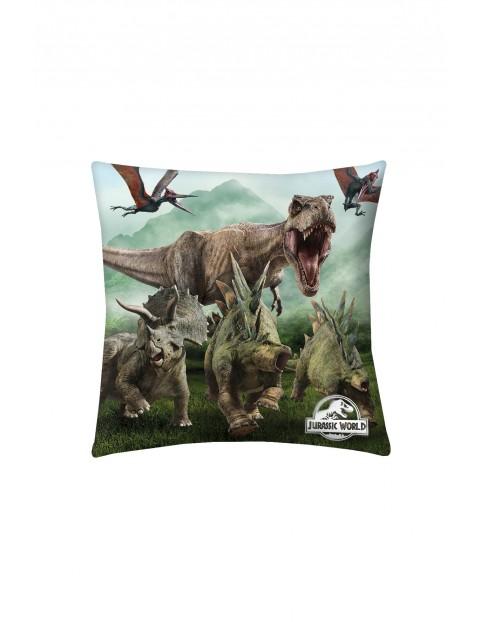 Kolorowa poduszka Jurassic World 40x40cm