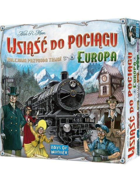 REBEL Gra Wsiąść do Pociągu Europa