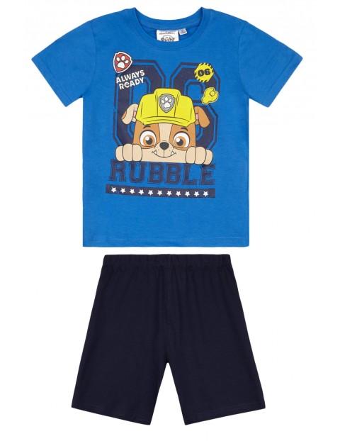 Piżama chłopięca Psi Patrol - niebieska
