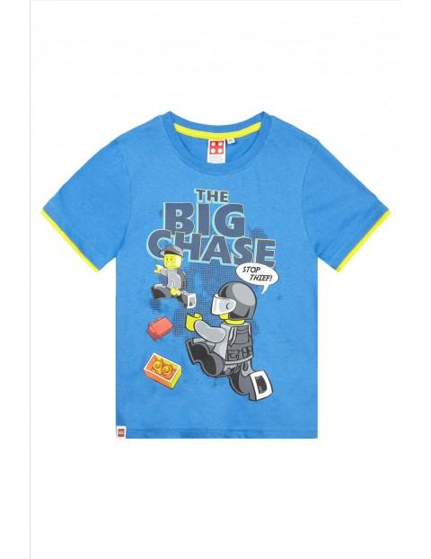 Koszulka dzianinowa chłopięca Lego City