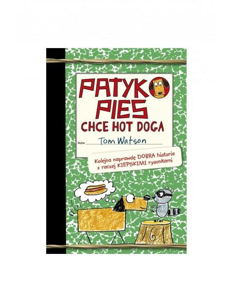 "Książka ""Patykopies chce hot doga"""