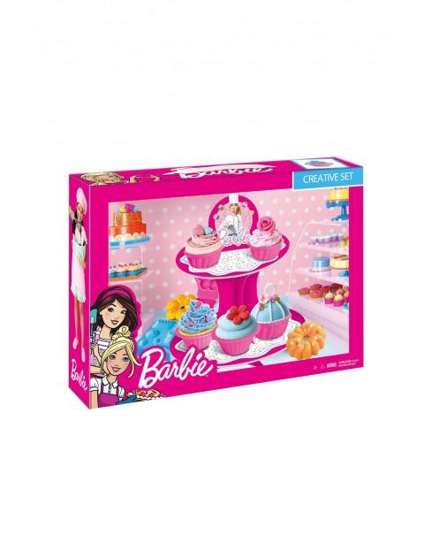 Barbie Masa plastyczna z paterą wiek 3+