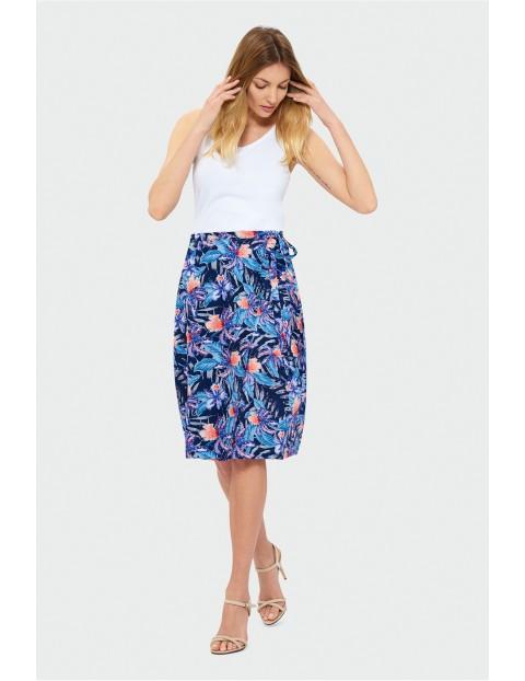 Spódnica damska na lato - wzorzysta
