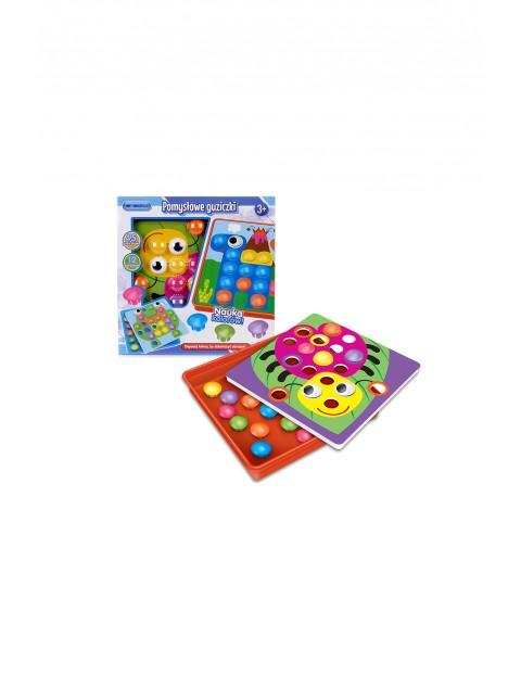 Pomysłowe guziczki - zabawka dla dzieci wiek 3+