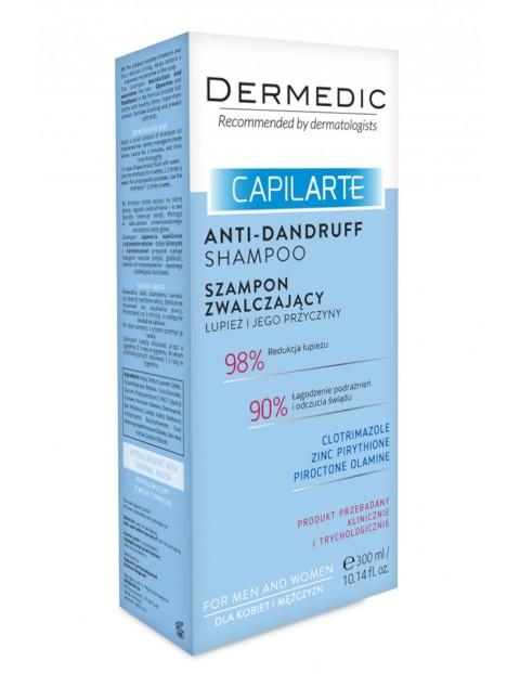 Szampon zwalczający łupież i jego przyczyny CAPILARTE - Dermedic 300ml