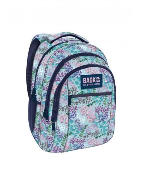 Plecak dziewczęcy szkolny Lato