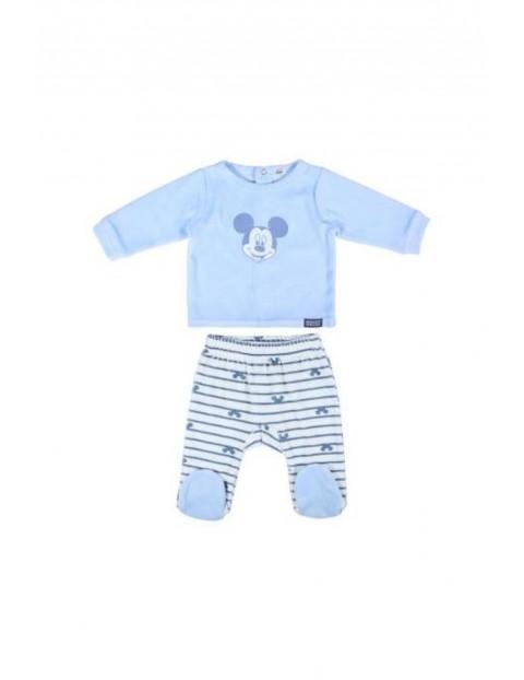 Piżamka niemowlęca Myszka Miki - jasno niebieska