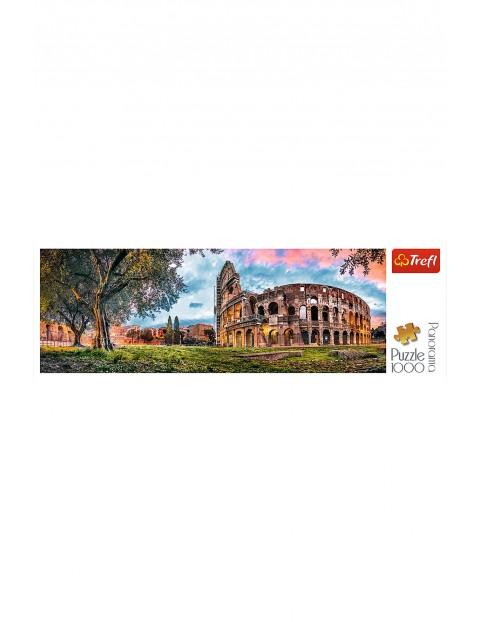 Puzzle Panorama - Koloseum o poranku - 1000 elementów