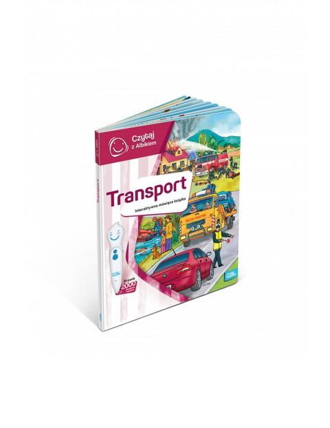 Czytaj z Albikiem - Transport - Interaktywna mówiąca książka