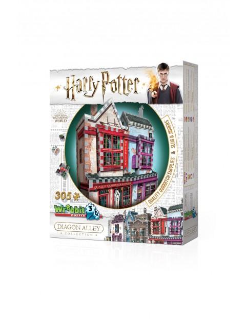 Wrebbit 3d puzzle Harry Potter Quality Quidditch Supplies & Slug & Jiggers 305 elementów