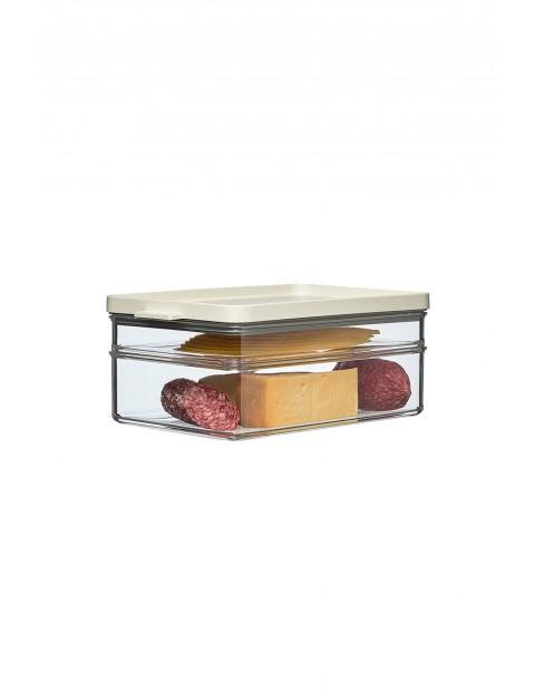 Pojemnik na wędliny i sery OMNIA 2-poziomowy WHITE
