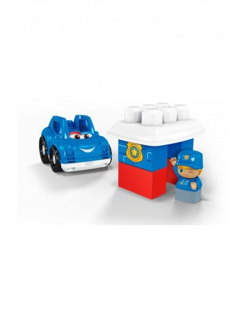 Mega Bloks First Builders - Pojazd z klockami Wóz Policyjny wiek 1-5lat