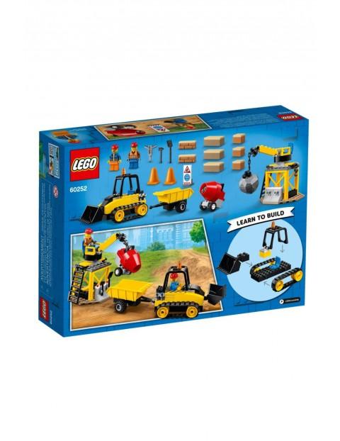Lego City - Buldożer budowlany - 126el wiek 4+